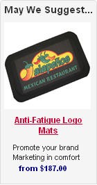 Anti-Fatigue Logo Mats