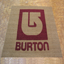 Cocoa Inlay Logo Mats