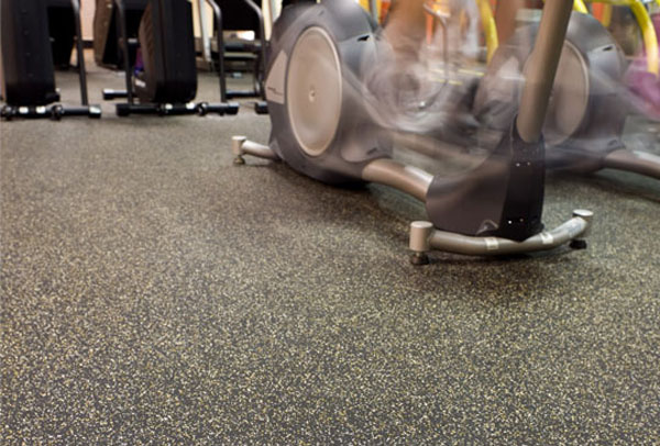 Rubber Roll Matting Is Rubber Flooring For Fitness By