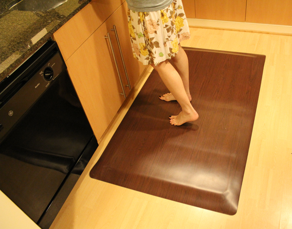 Merveilleux ... Anti Fatigue Kitchen Mats: Wood Designs