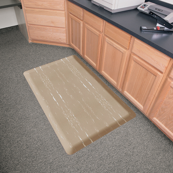... Anti Fatigue Kitchen Mats: Marblized Surface ...