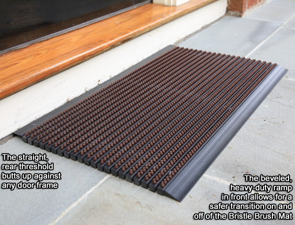 Bristle Brush Entrance Mats By American Floor Mats