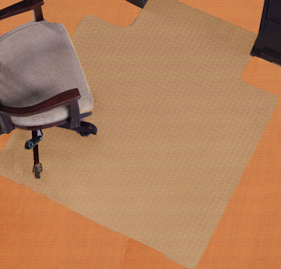Chair Mats Are Desk Mats In Ellipse Oval And Arc Shapes