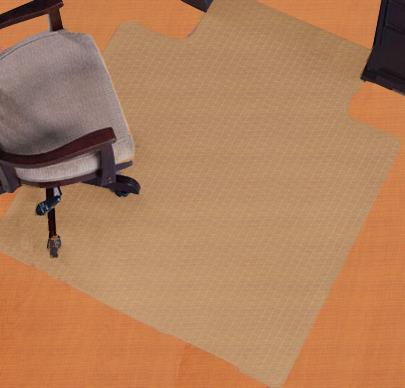 ... Oval Designer Desk Chair Mats   Ellipse, Arc, ...