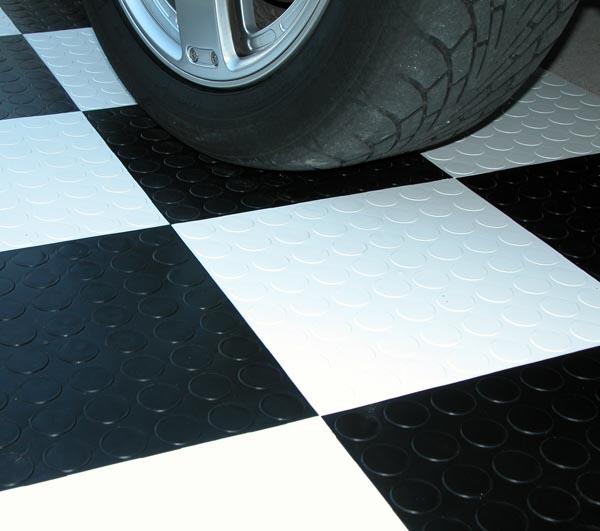 Black And White Rubber Floor Tiles Wood Floors