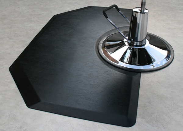 Barber Mats : Polyurethane Salon Mats are Comfort Craft Mats by American Floor Mats