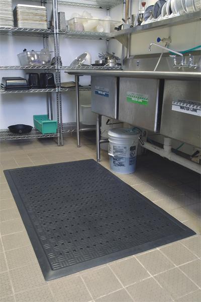 ... Comfort Drainage Kitchen Mats
