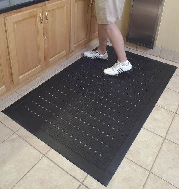 Rubber Kitchen Mats: Comfort Drainage Kitchen Mats Are Rubber Kitchen Mats By