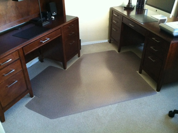 ... Custom Chair Mats for Hard Floors ... : american chair mats - Cheerinfomania.Com