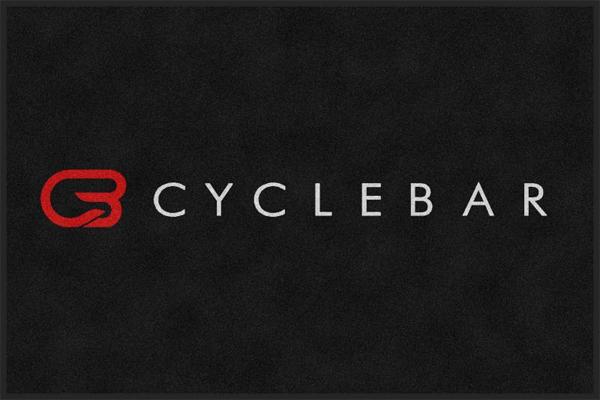 cyclebar logo floor mats are cyclebar logo mats by