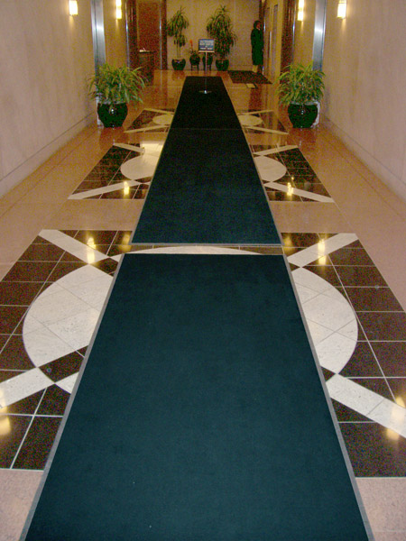 Oversized Deluxe Carpet Entrance Mats Are Entrance Floor