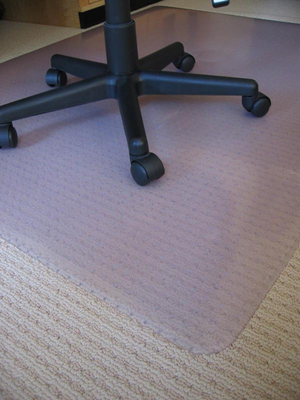 carpet wooden for fake frugal office diy chair it mat