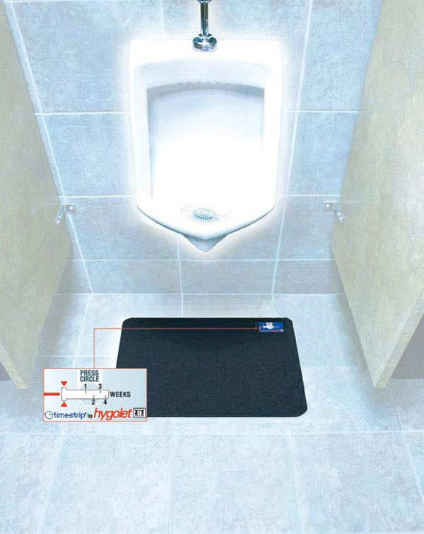 Disposable Hygienic Urinal Mats Are Disposable Bathroom