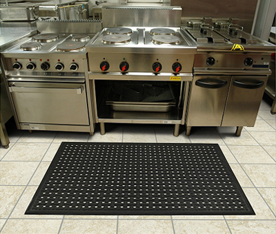 Rubber Drainage Mats are Commercial Kitchen Mats | American Floor Mats