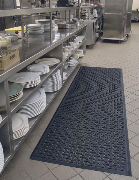 Garage floor drainage mats gurus floor for American garage floor
