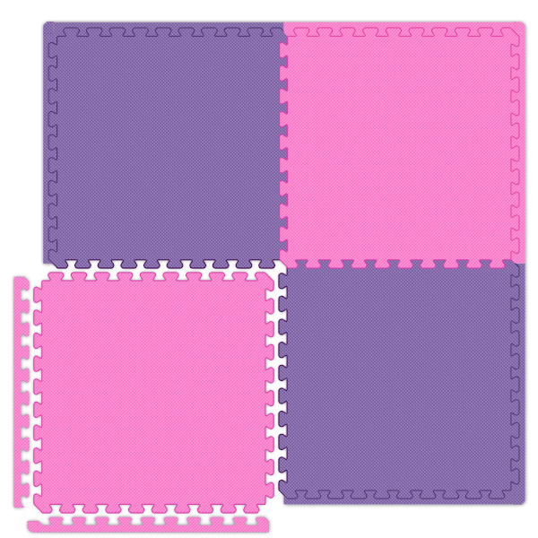 Economy SoftFloors Interlocking Tiles are Puzzle Mats and Modular Tiles.