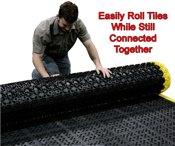 F i t solid ergonomic interlocking tiles american floor for 12x12 roll up garage door