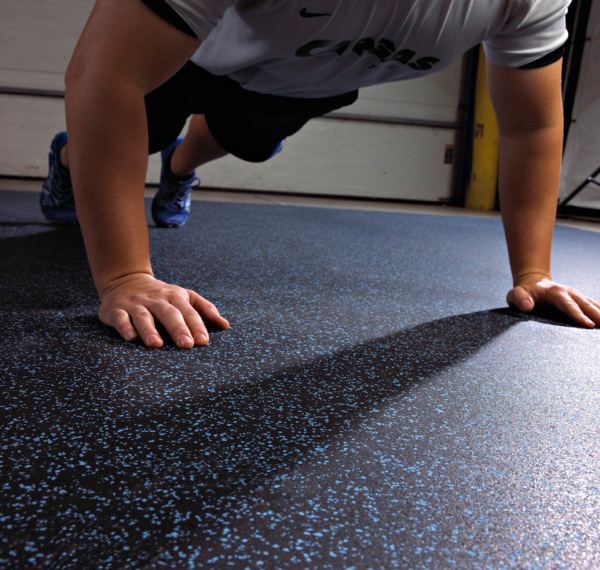 Fit Lock Rubber Tiles Are Interlocking Rubber Flooring By