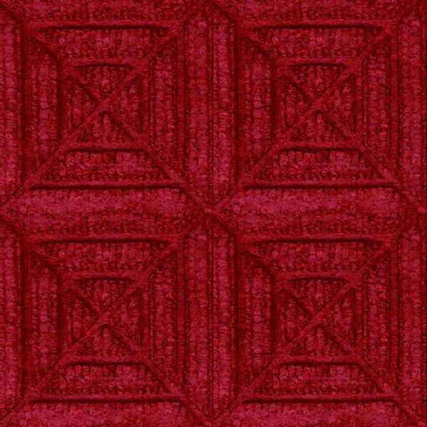Waterhog Geometric Entrance Mat Tiles Are Recessed Floor