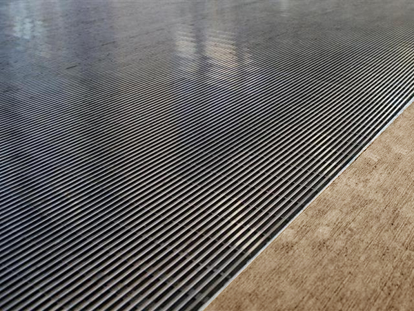 Stainless Steel Grid Recessed Metal Mats Are GridLine
