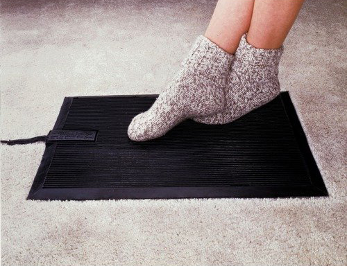 Heated Floor Mat Heavy Duty Foot Warmer Are Electric