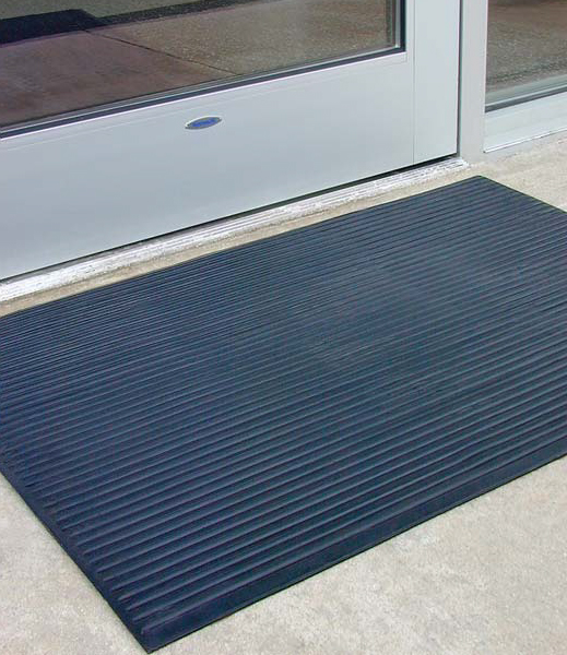 Heavy duty rubber ribbed mats by american floor