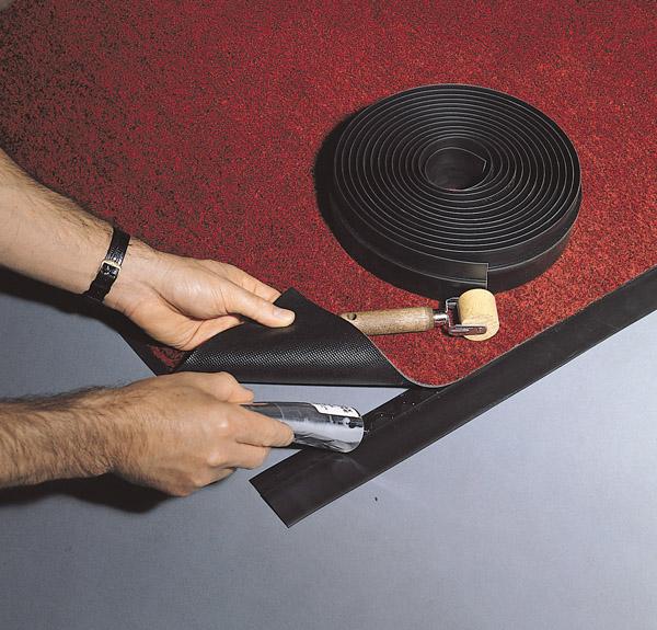 Rubber Flooring Beveled Edge Ramps By American Floor Mats