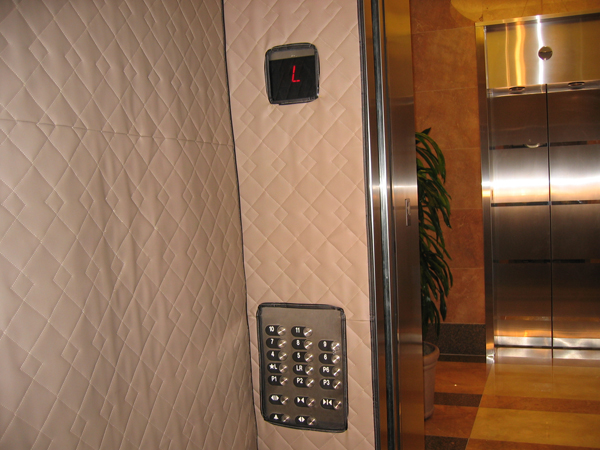 Heavy Duty Floor Mats >> Elevator Wall Protection Pads are Elevator Protectors by American Floor Mats