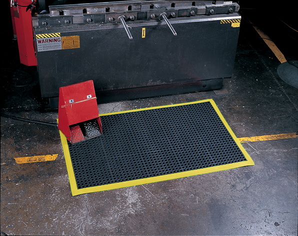 Industrial Worksafe Anti Fatigue Mats With Nbr Rubber Are