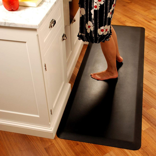 Leathersoft Anti Fatigue Mats Provide All Day Comfort When