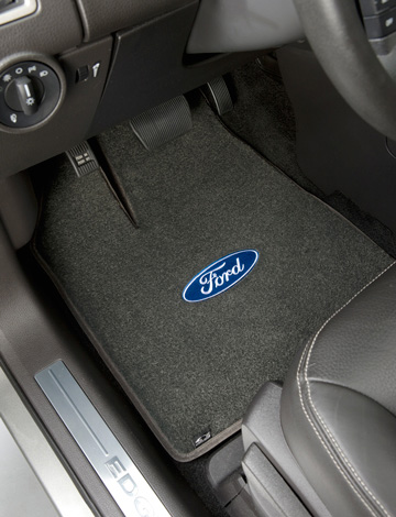Luxe Car Floor Mats Plush Carpet Car Mats American