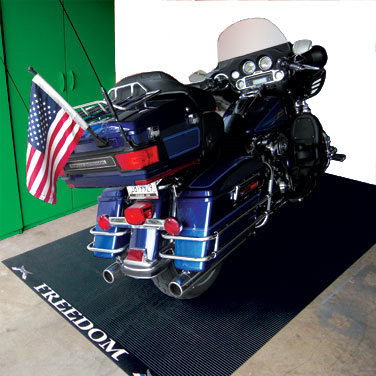Rubber Floor Mat >> Motorcycle Mats and Motorcycle Pads by American Floor Mats
