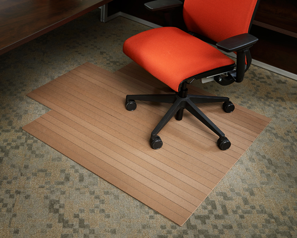 Natural Composite Recycled Chair Mats Are Natural