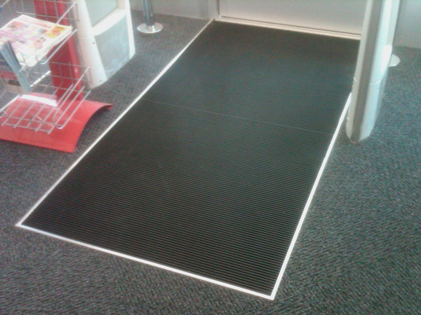 Recessed Nautilus Mats Are Inlaid Mats American Floor Mats