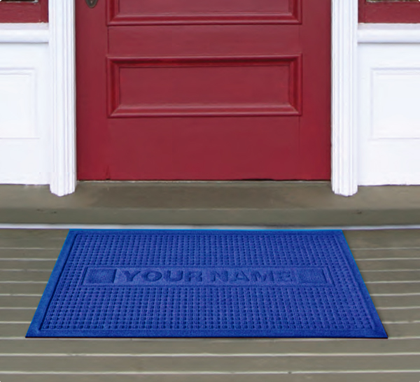 Personalized Waterhog Door Mats Are Personalized Door Mats