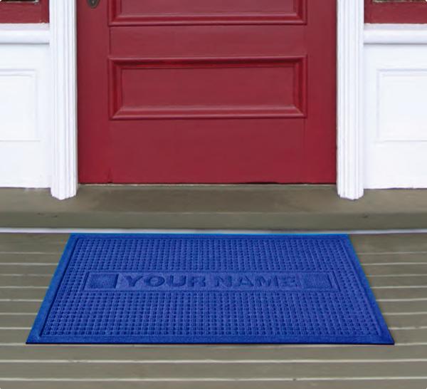 personalized waterhog door mats are personalized door mats by