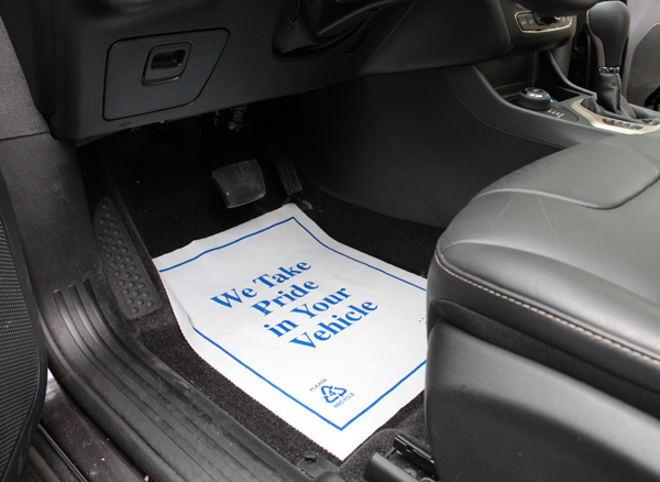 Plastic Car Floor Mats Are Disposable Plastic Car Mats By