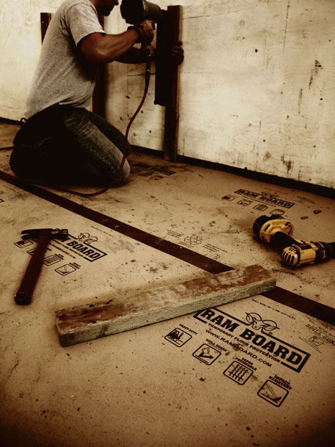 Ram Board Is Temporary Floor Protection Ramboard