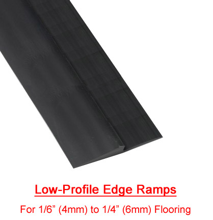 Rubber Flooring Beveled Edge Ramps By American Floor Mats