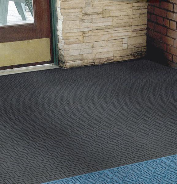 Rubber Scraper Floor Tiles are Rubber Floor Tiles by American Floor Mats