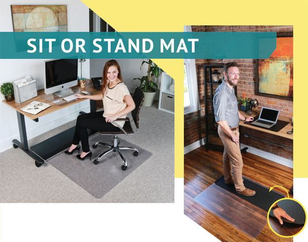Sit Or Stand Mats Are Standing Desk Mats By American Floor Mats