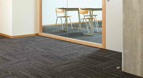 Striped Carpet Floor Mat Tiles Are Modular Carpet Tiles By American