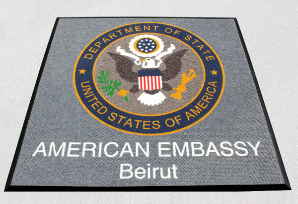 Super Berber Military Logo Mats Are Logo Mats By American