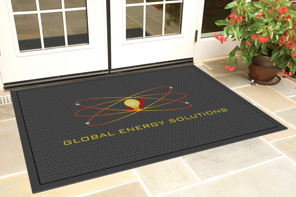 Rubber Scraper Logo Mats Are Logo Floor Mats By American
