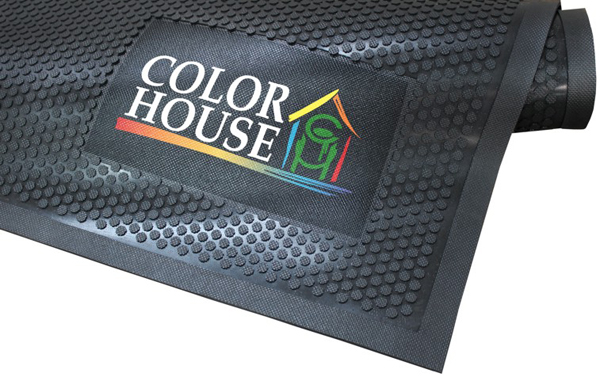 Rubber Scraper Signature Logo Mats Are All Rubber Logo Mats By American Floor Mats