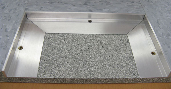 Recessed Floor Mat L Frame is a Tapered Angle Metal Frame | American ...