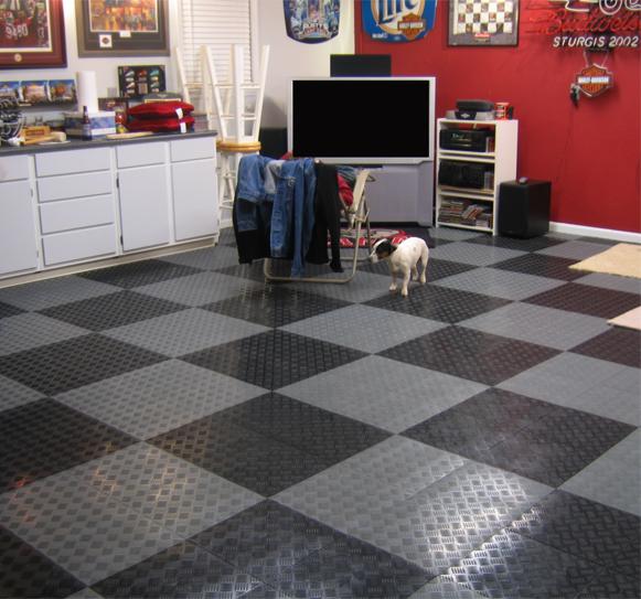 Tracstep Interlocking Garage Tiles Are Interlocking Garage