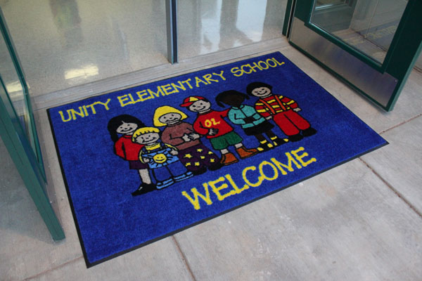Premium Carpet School Logo Mats Are School Logo Floor Mats