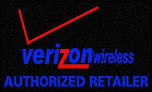 Verizon Wireless Logo Mats Are Floor American