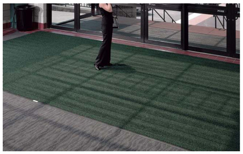 Recessed Waterhog Premier Rolls Mats Are Recessed Floor